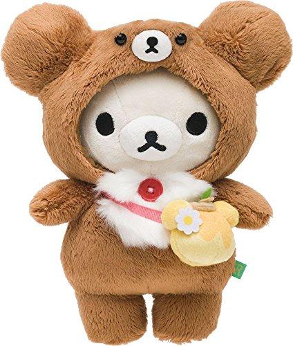 Korilakkuma Atsumete Plush With Bear Costume Rilakkuma SAN-X.