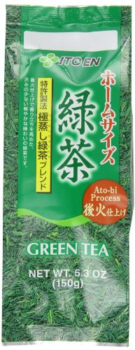 Ito-En Tea, Green Homesize, 5.3-Ounce Packages (Pack of 5)