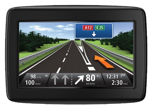 TomTom Start 20 M Central Europe Traffic Navigationsgerät, (Free Lifetime Maps, 11 cm (4,3 Zoll) Display, TMC, Fahrspurassistent, Parkassistent, IQ Routes, Zentraleuropa 19) schwarz