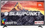 Blaupunkt Televisor Smart TV LED 55' - 55 Pulgadas 4K Ultra HD UHD WiFi - BLA-55/405V-GB-11B4-UEGBQUX-EU, Sonido JBL, Negro