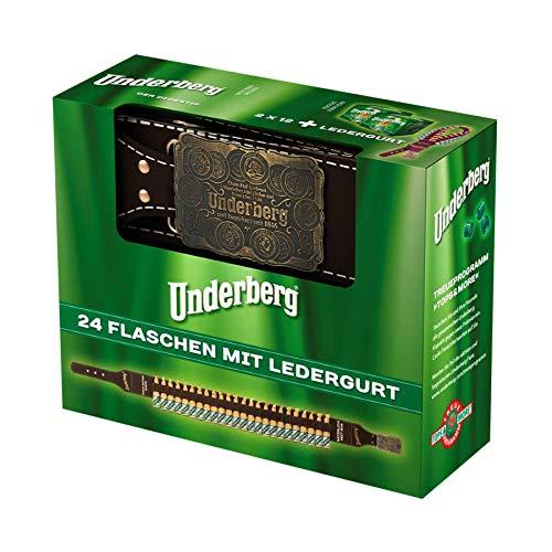 Underberg Ledergurt mit Metallverschluss (24 x 0.02 l)