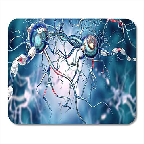 Semtomn Mouse Pad 3D von Nervenzellen für neurologische Erkrankungen Tumoren Mousepad für Notebooks, Desktop-Computer Mausmatten, Büromaterial