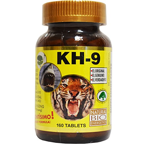 Kh 9 Multivitamin Tablets Natural Bio Energetics Mineral Herb Amino Enzymes (160 Tablets)
