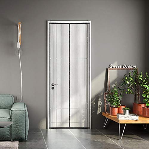 Cierre magnético de malla manos libres Protector de puerta para puertas de hasta 19,5