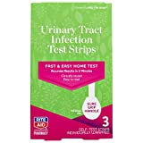 Rite Aid Feminine Care Urinary Tract Infection Test Strips, 3 Count | UTI Test Strips for Women | Urinary Tract Health