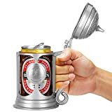 Barbuzzo Brew Stein - Oktoberfest Themed Beer Can Holder - German Style Beer Stein Perfect for Holding Your Favorite 12 Oz. Beverage Product ID: 870588008763