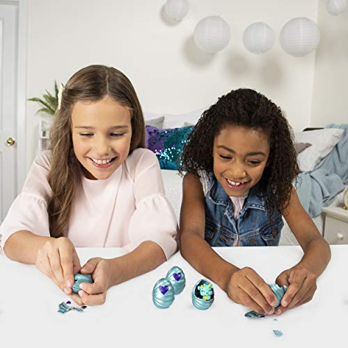 HATCHIMALS 6045511 CollEGGtibles, Mermal Magic 12-pack Egg Carton with Season 5 HATCHIMALS, for Kids Aged 5 and Up, Multicolour