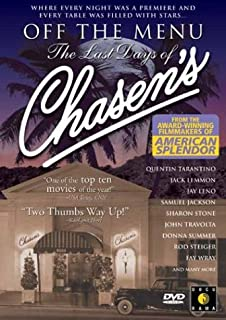 Off the Menu: Last Days of Chasen's [DVD] [Import]