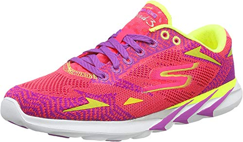 Skechers Go MEB Speed 3 Women's Running Shoes - SS16-8.5 - Pink
