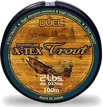 DUEL(デュエル) 『カーボナイロンライン X-TEXトラウト』