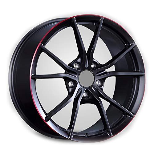 GYZD Alu Felgen 19 Zoll Durchfluss geschmiedete Radlegierung Ersatzrad Auto Rad Maschine Aluminium Felge Passend für R19 *9.5J Reifen Geeignet für macan 718 911 1 (Stück),M