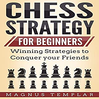 Chess Strategy: For Beginners audiobook cover art