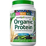 Vegan Protein Powder Smoothie Mix | Purely Inspired Organic Protein Powder | Plant Based Protein Powder for Women & Men | Pea Protein Powder | Plant Protein Powder | Vanilla, 1.5 lb (package may vary)