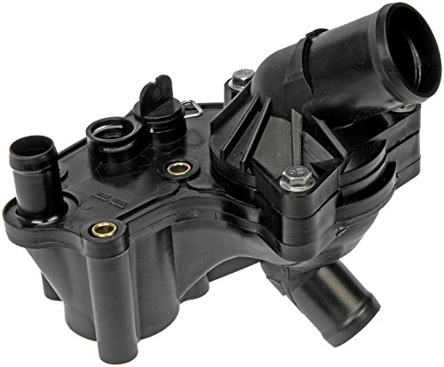 Dorman 902-860 Engine Coolant Thermostat Housing Assembly for Select Ford/Mercury Models, Black