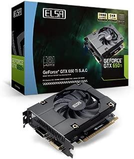ELSA GeForce グラフィックボード GTX650Ti 搭載 全長145mm (VD4832) [ ELSA GEFORCE GTX 650 Ti 1GB S.A.C ]