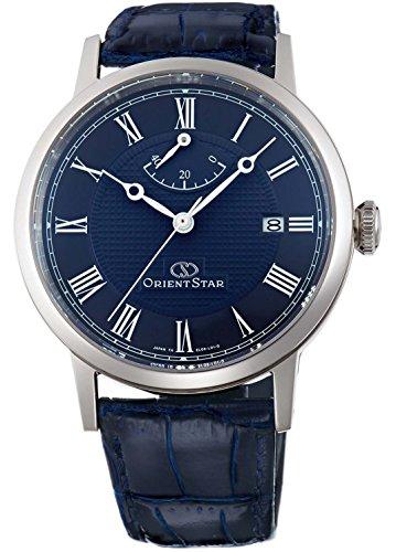 [オリエント]ORIENT 腕時計 ORIENTSTAR オリエントスター エレガントクラシック 機械式 自動巻き (手巻き付き) ネイビー WZ0331EL メンズ