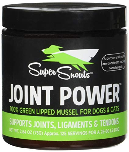 Super Snouts | Joint Power | Immune Health | 100 % Green Lipped Mussel (2.64 oz (75 g))