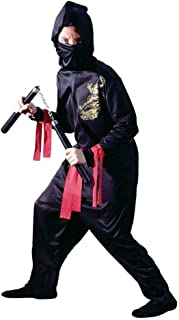 Child Small (4-6) Black Ninja