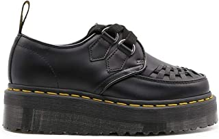 Luxury Fashion   Dr. Martens Women 24994001 Black Leather Lace-up Shoes   Spring-summer 20