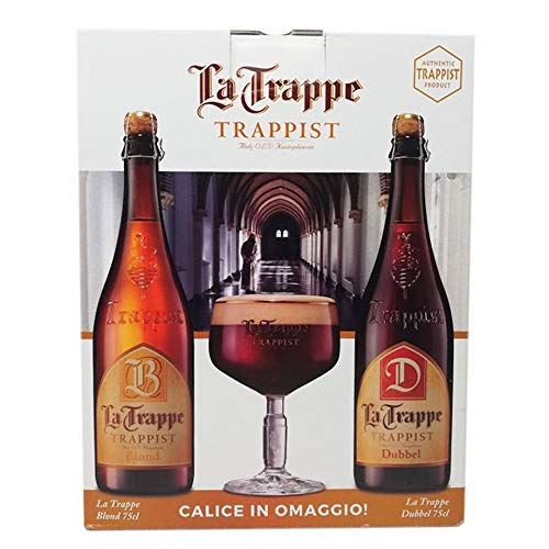 2 Bottiglie di Birra La Trappe con calice in omaggio