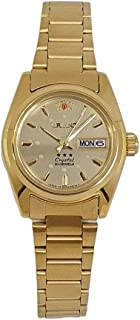 Orient Automatic Stainless Steel Golden Watch for Ladies SNQ0A01ZG8