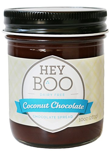 Coconut Chocolate Spread - Delicious - Coconut Milk - Dark Cocoa - Vegan - Wholesome - No Corn Syrup - Made in USA, 10 oz