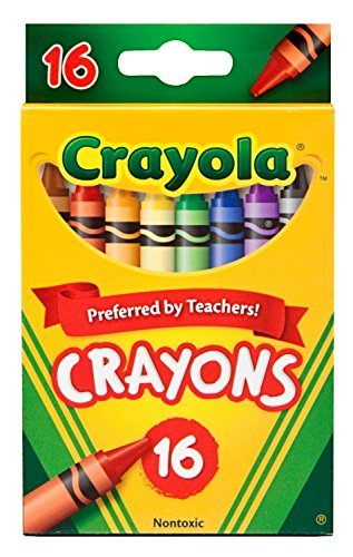 Crayola Crayons 16 Per Box Pack of 6