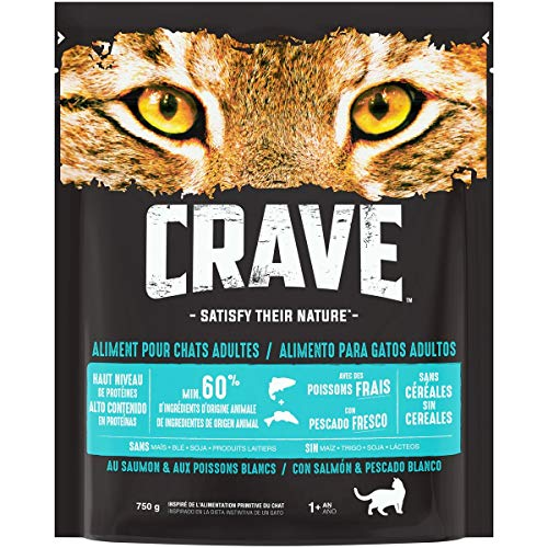 commercial petit croquettes pour chat sans céréales puissant