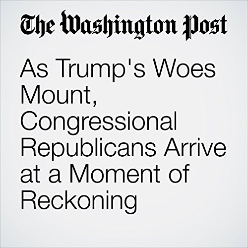 As Trump's Woes Mount, Congressional Republicans Arrive at a Moment of Reckoning copertina