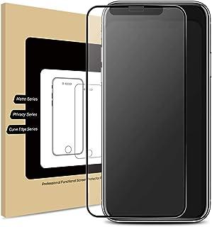 Willa Matte Screen Protector for iPhone 12 Pro Max Anti-Glare & Anti-Fingerprint Tempered Glass Clear Film Full Screen Cas...