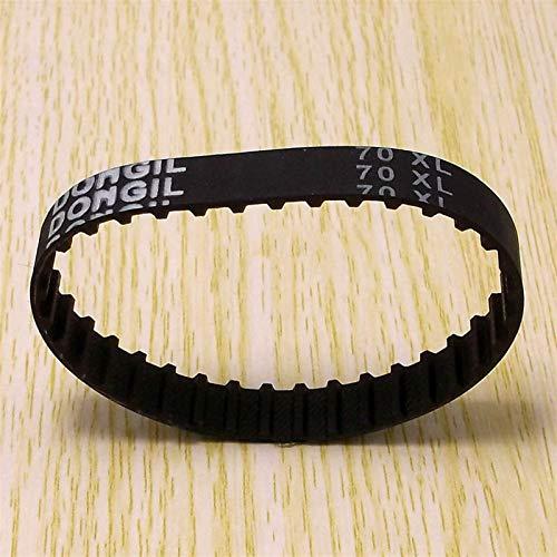 LCuiling-Cinturón sincrónico 1 UNIDS 70XL Cinturón de tiempo L039 35 dientes, ancho 0.39 pulgadas (10 mm), polea de transmisión XL positiva, para motor Stepper y máquina de grabado CNC Estable y durad