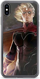 Adam Warlock Infinity Gauntlet Anti-Scratch Shockproof Clear Case for iPhone Xs Max