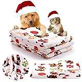 KIWITATA kiwitatá Puppy Dog Blankets Super Soft Fluffy Premium Fleece Pet Blanket Flannel Throw for Small Dog Puppy Cat(S)