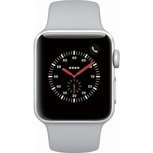 ed5ac93e4 Apple Watch Series 3 (GPS) 38mm Smartwatch (Silver Aluminum Case, Fog Sport