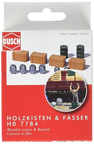 Busch 7784 Holzkisten + Fässer