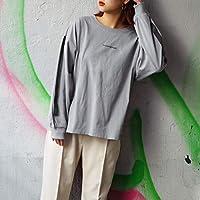 179/WG 袖ラインプリントロングスリーブTシャツ【60ブルー/99(FREE)】