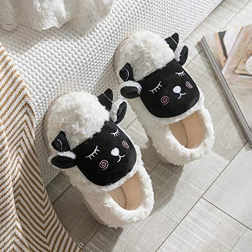 WTFYSYN Invierno Memory Foam Casa Zapatos,Zapatos de Invierno...