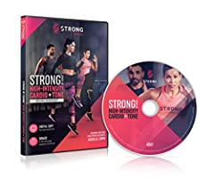 It's not a dance class - it's revolutionary workout where every move is synced to a beat 60 min high-intensity workout with a bonus 20 min workout Burn more calories when you workout out to perfectly synced music Proven to burn almost 2x the calories...