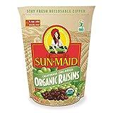 Sun-Maid Organic Raisins - Dried Fruit Snacks -...