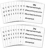 CYSJ 20 Pcs Reparatur Patches Tape Transparent Reparatur Flicken Selbstklebender Set...