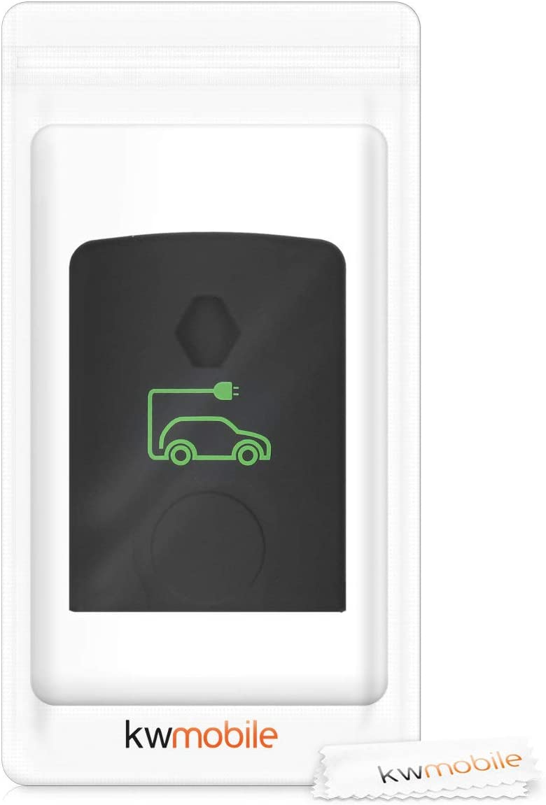 kwmobile Car Key Cover Compatible with Renault Electric Battery