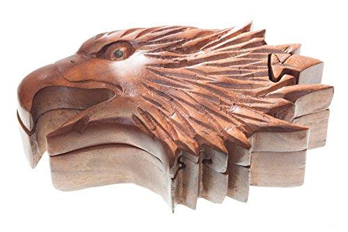 Adler - Arcan (Schmuckdose aus Holz)   Zauberdose   Schmuckkasten   Geschenkdose aus Holz   Reichsadler, Deutsches Reich