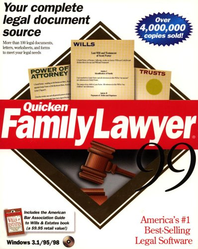 Quicken Family Lawyer 99