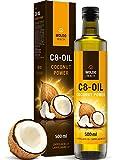 C8 MCT-Öl aus 100% Kokosöl reine Caprylsäure 500ml - geruchs- und geschmacksneutral