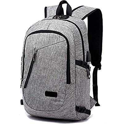 Laptop Backpack with USB Charging Port and Headphone Compartment, Fits 12-16 inch laptop and Notebook, Waterproof