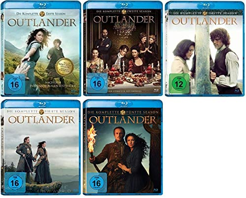 Outlander Staffel 1-5 (1+2+3+4+5, 1 bis 5) [Blu-ray Set]