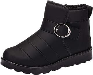 2019 New Shoes for Women,Women's Snow Boots Winter Ankle Short Bootie Waterproof Footwear Warm Shoes