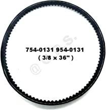 Gavin parts shop 754-0131 954-0131 754-04201 954-04201 Snow throwers Drive Belt for MTD ( 3/8