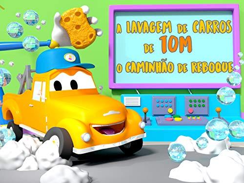 A lavagem de Carros de Tom, o Caminhão de Reboque