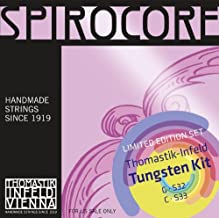 spirocore tungsten cello strings